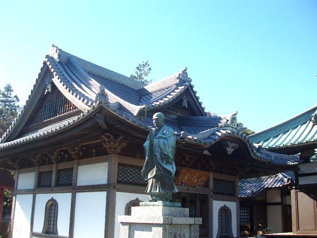 磐田市 本性寺 七面堂