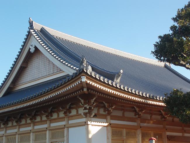 磐田市 興徳寺 本堂